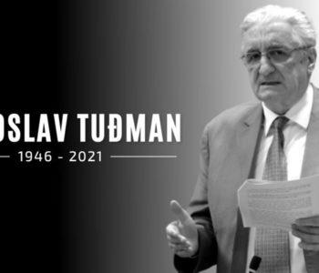 Umro je Miroslav Tuđman