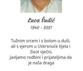 Luca Šudić (1940. – 2021.)