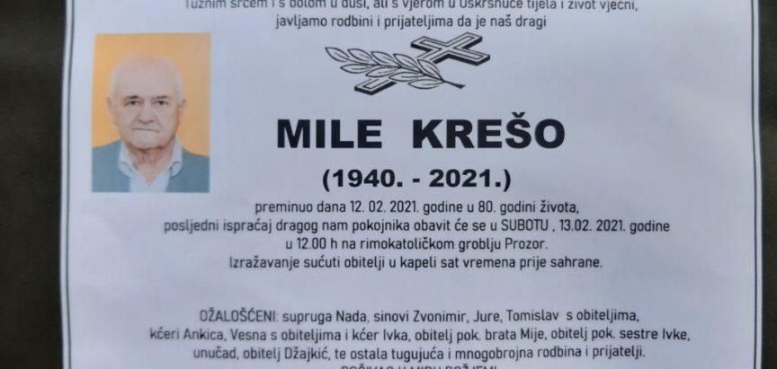 Mile Krešo