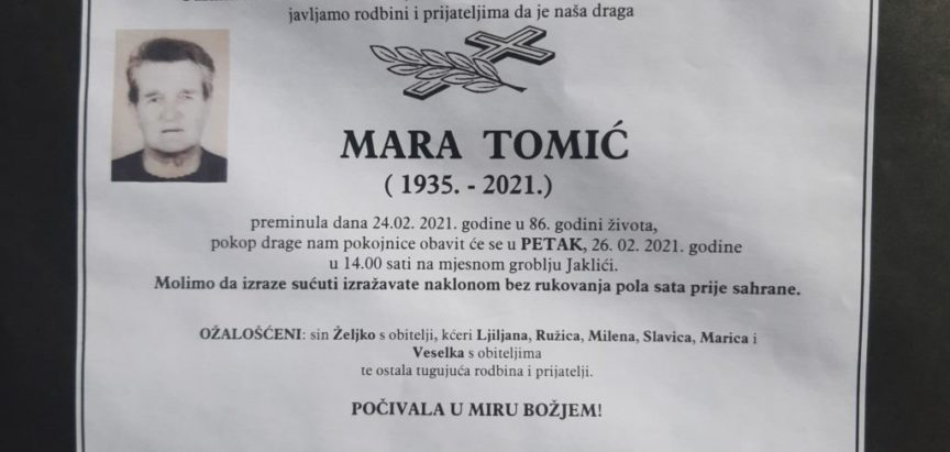 Mara Tomić