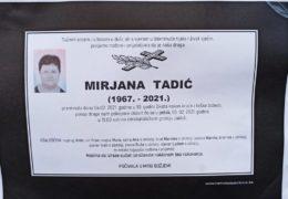 Mirjana Tadić (1967.-2021.)
