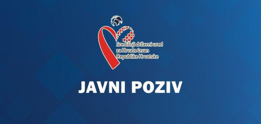 1. Javni poziv za prijavu posebnih potreba i projekata od interesa za Hrvate izvan Republike Hrvatske u svrhu ostvarenja financijske potpore za 2021. godinu