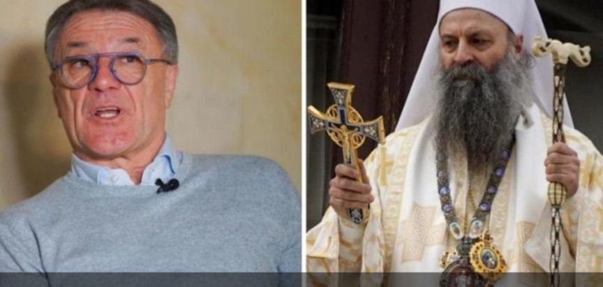 Zdravko Mamić feštao sa srpskim patrijarhom: Molit će za mene, ljubim ga svim srcem