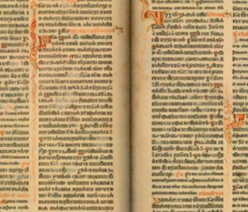 """""""Misal po zakonu rimskog dvora"""" – prva tiskana hrvatska knjiga – 1483."""