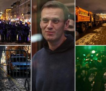 Ruski oporbeni političar Aleksej Navaljni osuđen na 2 godine i 8 mjeseci zatovora