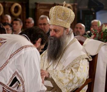 Mitropolit zagrebačko-ljubljanski Porfirije novi patrijarh SPC-a