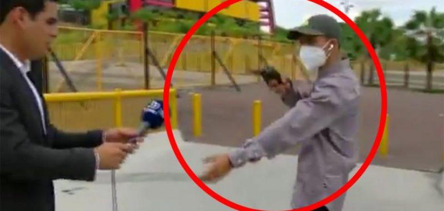 Razbojnik opljačkao TV ekipu tijekom sinimanja