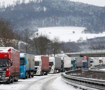 Snježna oluja pogodila Njemačku i Nizozemsku
