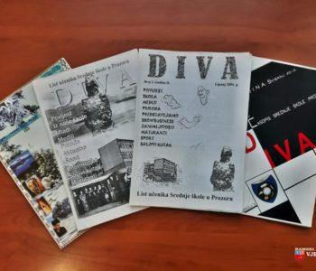 Učenici Srednje škole Prozor pripremaju školski list Diva