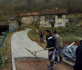 Na Ustirami uređen lokalni put za dvije mlade obitelji