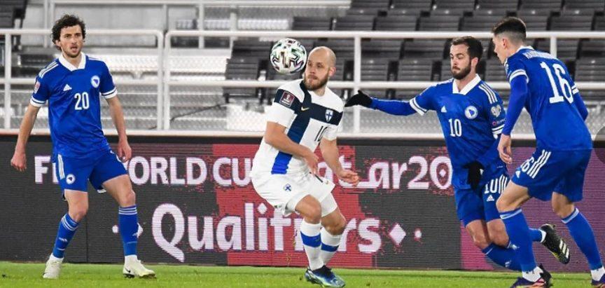 Nogometna reprezentacija BiH odigrala neriješeno s Finskom