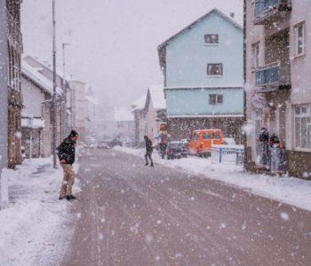 U BiH danas pretežno oblačno vrijeme sa snijegom, u nizinama kiša