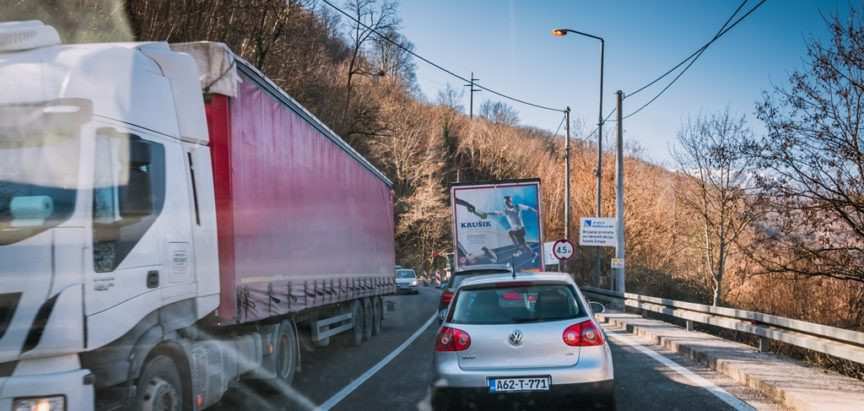 Vozačima se savjetuje maksimalan oprez na putu