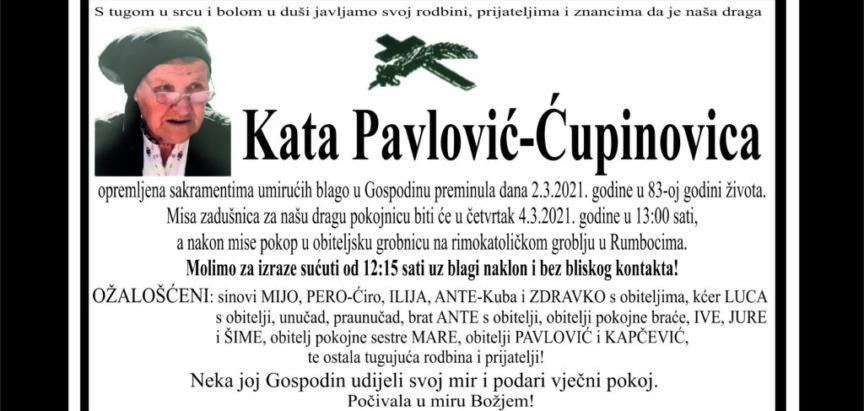 Kata Pavlović – Ćupinovica