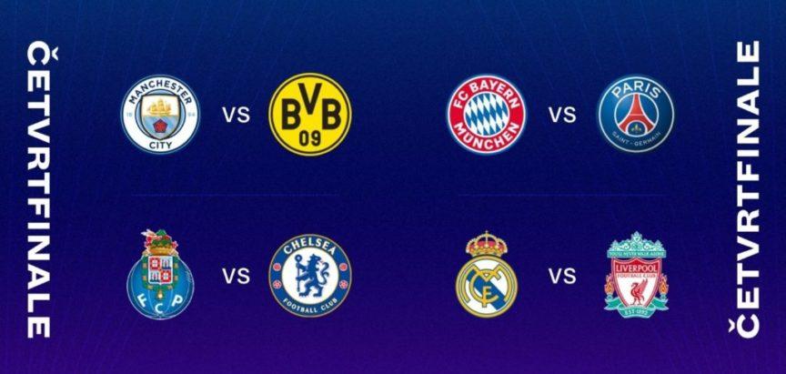 Izvučeni parovi Lige prvaka