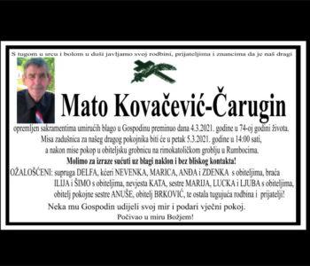 Mato Kovačević Čarugin