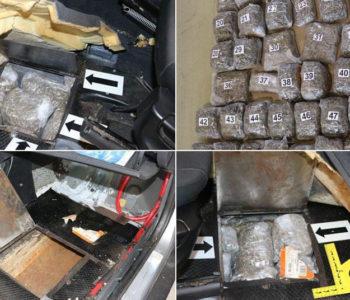 Pas tragač otkrio drogu prilikom pokušaja prelaska u Hrvatsku