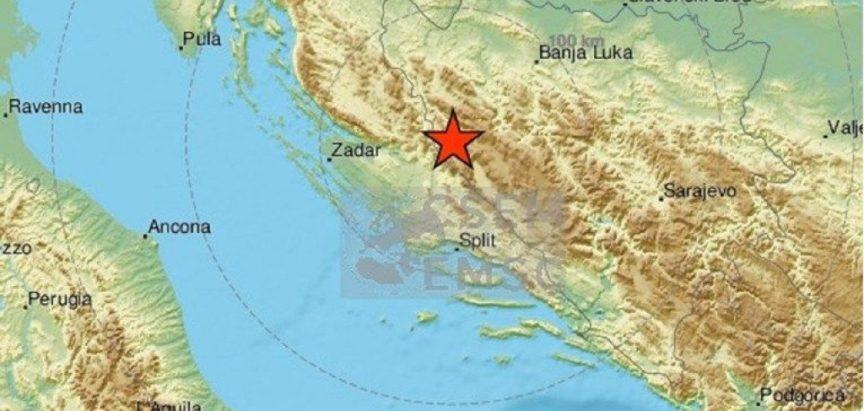 Potres zatresao BiH, osjestio se i u Dalmaciji