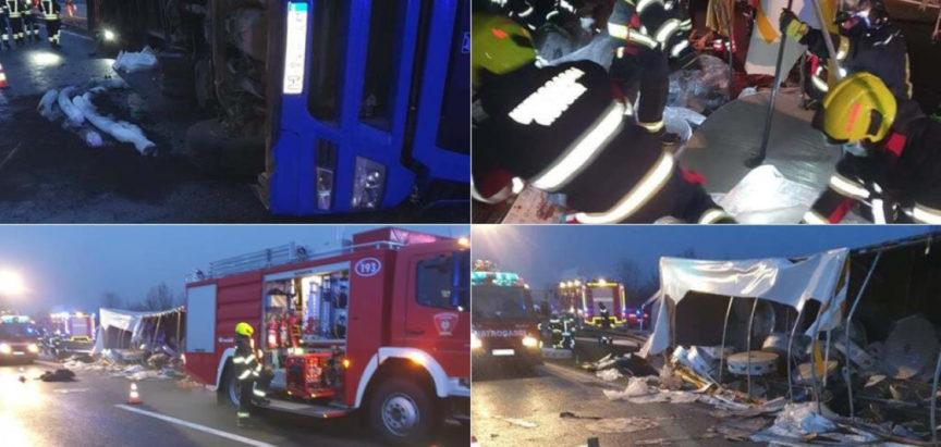 Teška prometna nesreća u Hrvatskoj