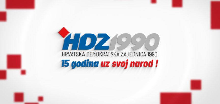 HDZ 1990 bilježi 15 godina svoga djelovanja