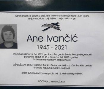 Ane Ivančić
