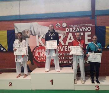 Monika Rajić državna je viceprvakinja u karateu
