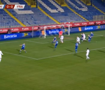 Nogometaši BiH pružili žestok otpor Francuskoj reprezentaciji