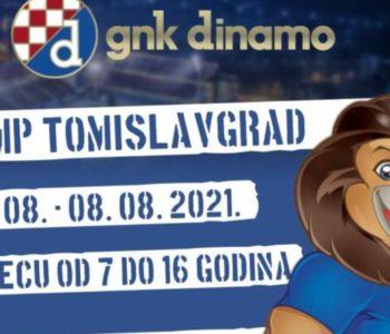 Dinamov nogometni kamp u Tomislavgradu