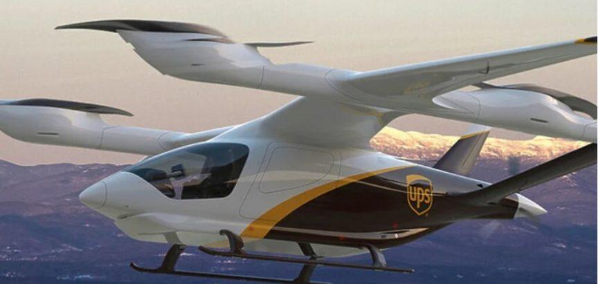 UPS će uskoro dostavljati pošiljke pomoću električnih letjelica