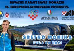 KK EMPI: Monika Rajić se priprema za Europsko prvenstvo