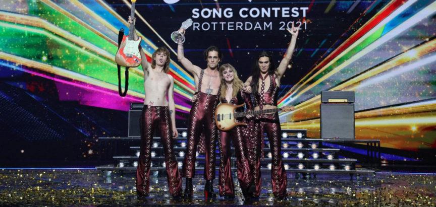 Trijumf Italije na Eurosongu