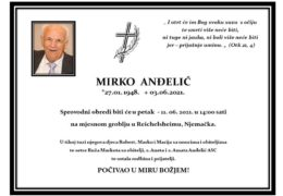 Mirko Anđelić (1948.-2021.)