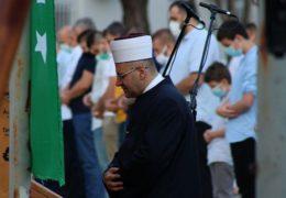 Muslimanski vjernici  proslavljaju Kurban-bajram