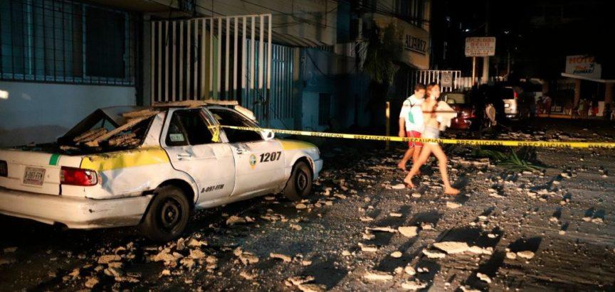 Potres magnitude 7.0 pogodio meksičku saveznu državu Guerrero