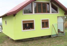 Supruzi izgradio rotirajuću kuću za raznolikiji pogled iz obiteljskog doma