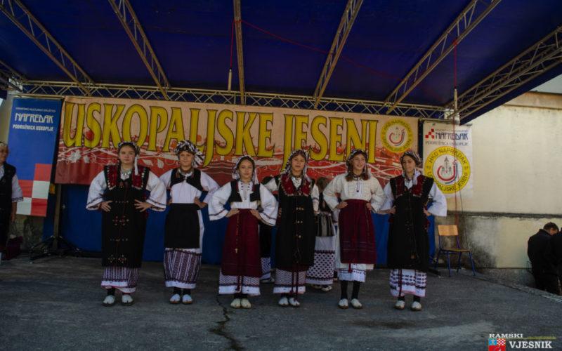 """Članovi Udruge """"Ramska tradicija"""" sudjelovali na XXV. Uskopaljskim jesenima"""