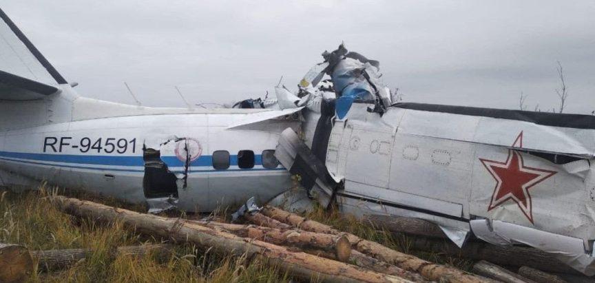 RUSIJA: 16 osoba poginulo u padu zrakoplova, sedam ljudi izvučeno živo iz olupine
