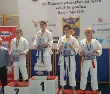 Amila Beganović viceprvakinja BiH u karateu