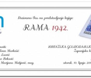 Predstavljanje knjige Rama 1942. u Požegi
