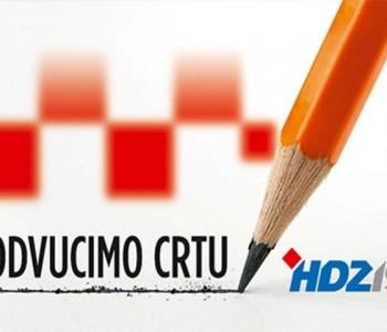 Poziv na središnji predizborni skup HDZ-a 1990 u Prozoru
