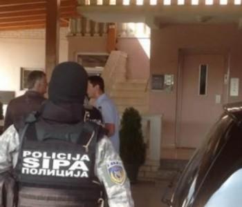 Uhićeni Jerko Ivanković Lijanović, Mersed Šerifović i Edin Ajanović