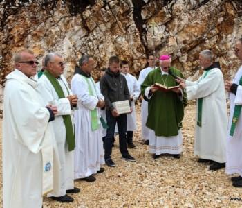 Blagoslov gradilišta i kamena temeljca nove filijalne crkve na Risovcu