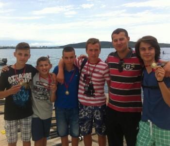 Ramski veslači osvojili medalje