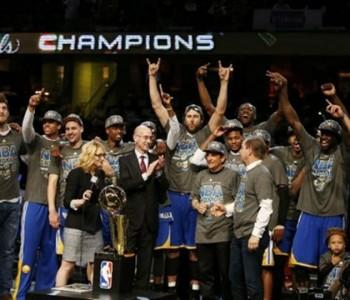 Novi NBA prvaci: Golden Stateu naslov nakon 40 godina