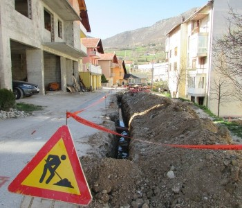 FOTO: Nastavljeni radovi u dijelu Splitske ulice