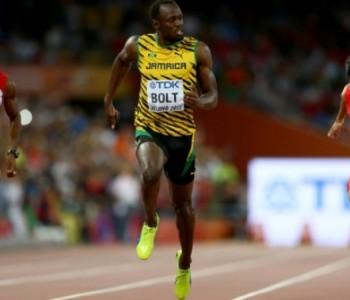 Usain Bolt obrano zlato na 100 m