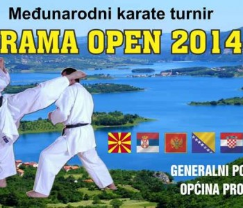 Najava: Medjunarodni karate turnir RAMA OPEN 2014.