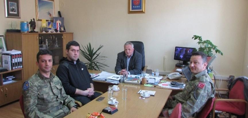 Načelnik primio LOT tim Eufor-a iz Jablanice