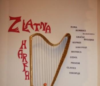 Najava: Zlatna harfa 2015. u župi Prozor