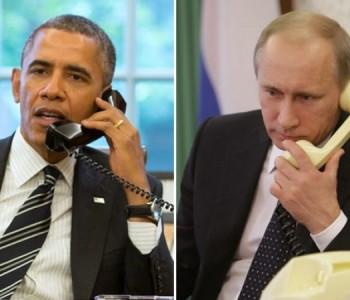 Obama i Putin obavili 'iskren i izravan' telefonski razgovor